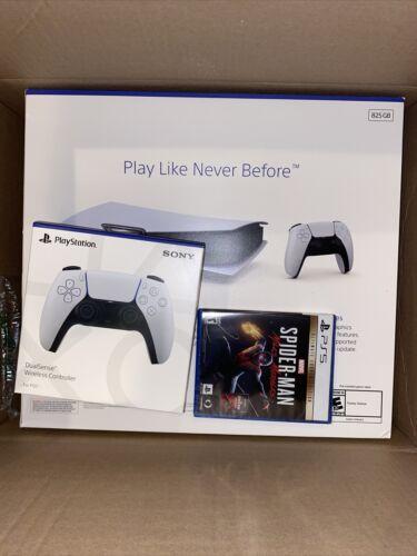 Sony PlayStation 5 PS5 Console Standard Disc Version Sams Club Bundle NEW - $820.00