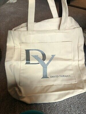 David Yurman Canvas Tote