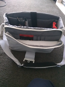 Manfrotto white camera bag Sans Souci Rockdale Area Preview