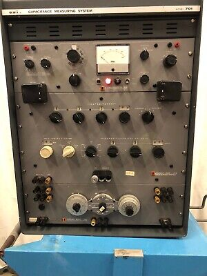 Esi Capacitance Measuring System Model 701 Impedance Bridge 290a