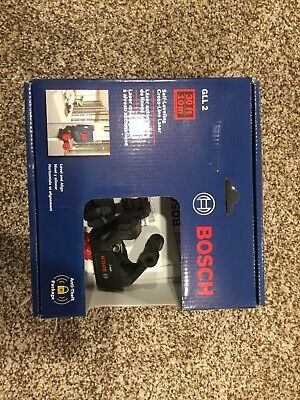 Bosch GLL 2 Self-Correcting Cross Line Laser Level with Mounting Device