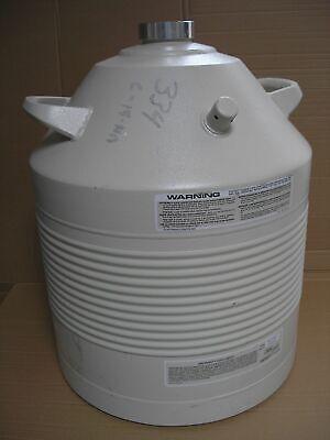 Union Carbide Liquid Nitrogen Dewar 32-liter - 32 Ld Pgt Cryo Lab Tank Chamber