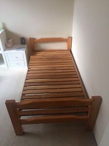 SINGLE BED FRAME, $35. BONUS: FREE MATTRESS. Williamstown North Hobsons Bay Area Preview