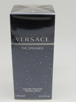 NEW THE DREAMER BY VERSACE *MEN'S COLOGNE* 3.4 oz EDT SPRAY *SEALED PERFUME