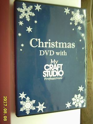 CHRISTMAS DVD WITH MY CRAFT STUDIO PROFESSIONAL: