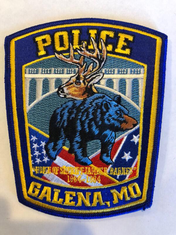 Galena Missouri Police Patch ~ New Condition