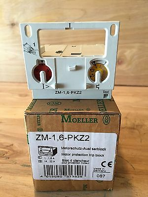 Moeller Zm-1 6-pkz2 Motor Protection Trip Block