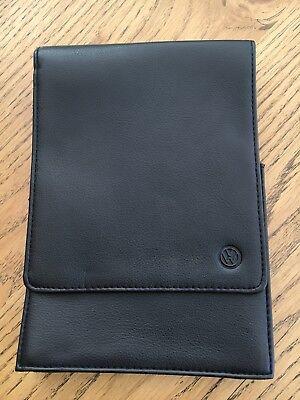 Genuine Volkswagen Golf/Scirocco Leather Document Service History Wallet/case