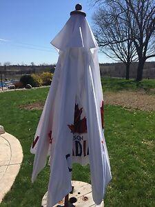 Brand new Molson Canadian patio umbrella
