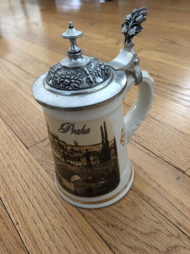 Beer Stein from Czech Republic (SHIPS FREE)