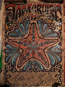 Jamcruise-11-Official-Poster-Jeff-Wood-Signed-by-Artists-on-the-Boat
