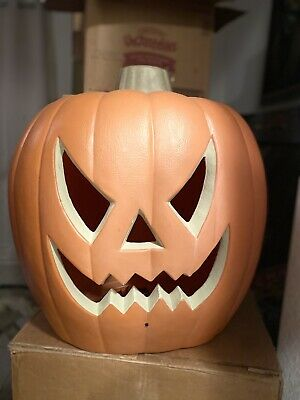 Pumpkin Jack-O-Lantern Halloween 20 in Gemmy Spirit Halloween Animated Prop HUGE