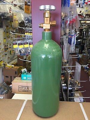 Oxygen Tank 20 Cubic Feet R Tank Uniweld O.d. 5.25 H 18.5 12.7 Lbs.