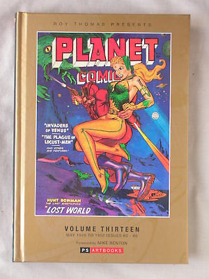 1st Ed PLANET COMICS VOL 13 May 1949 - 1952 Issues 60-66 NEW HC PS ARTBOOKS