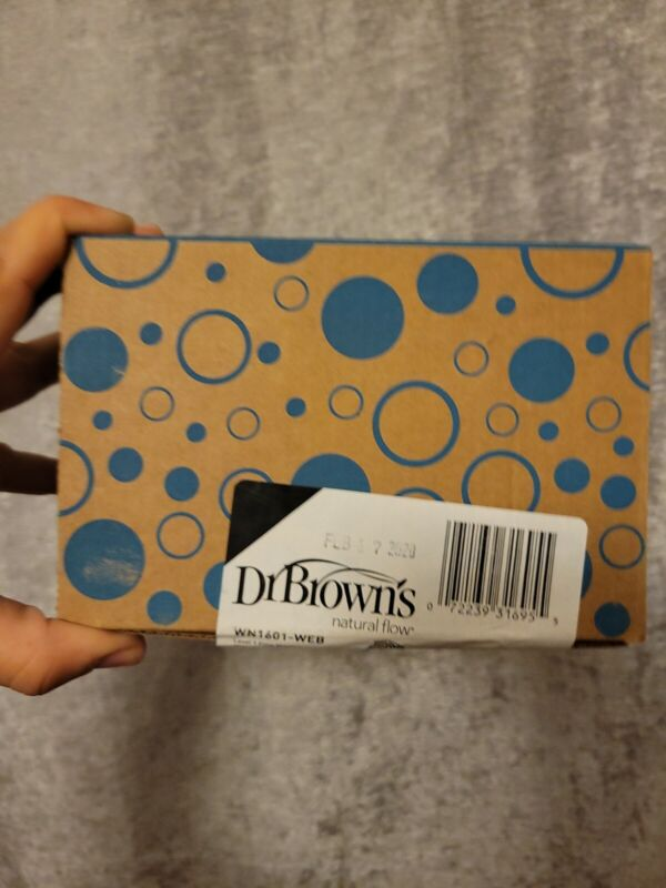 Dr. Browns Level 1 Flow Nipples Wide Neck 6-Pack New in Box Bottle Nipples