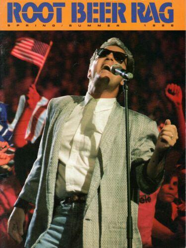 BILLY JOEL 1988 USSR SOVIET TOUR CONCERT PROGRAM BOOK-ROOT BEER RAG-EXC TO NMT
