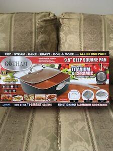 Gotham steel deep square pan