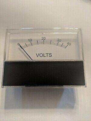 247-161-666 Voltmeter Horizontal 0-40 Volt Range