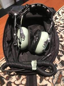85d0e127d24 David Clarke H10-66 Aviation Pilot Headset