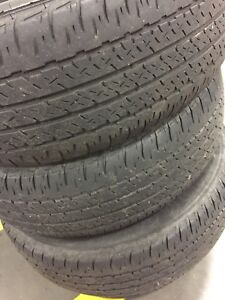 Selling 4 205/65r16 Firestone affinity tires $80 obo