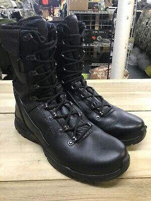 Excellent British Army Issue Black YDS Swift Temperate Goretex Boots 9.5