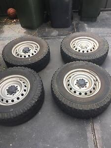 Ford Ranger tyre and rims PX Adamstown Newcastle Area Preview