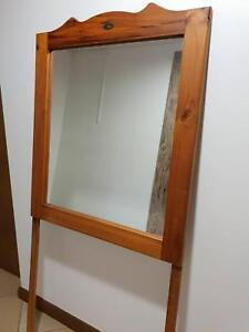 Large Framed Mirror on legs - made in Oz by Stockman