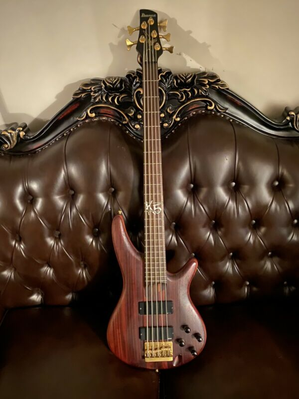 Ibanez K5 (Fieldy Of Korn Edition) 5 String Bass Guitar.  Rare! And Discontinued