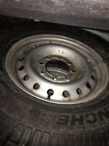 8 bolt Chevy winter tires and rims