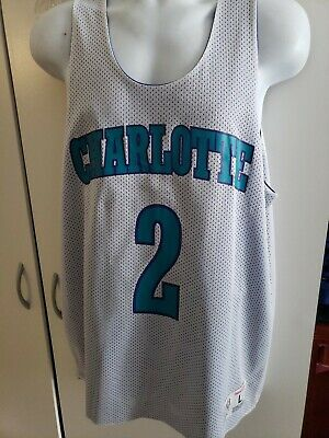 🔥🔥Charlotte Hornets NBA Mitchell & Ness Reversible JERSEY #2 ALL STAR NEW!🏀🏀