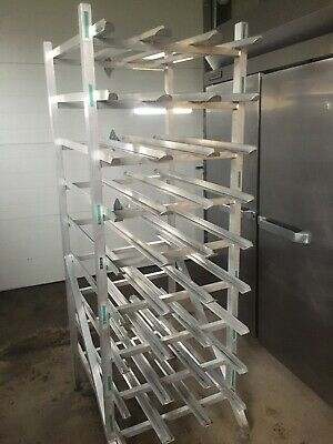 New Age Commercial Restaurant Kitchen Aluminum Can Shelving Storage Rack