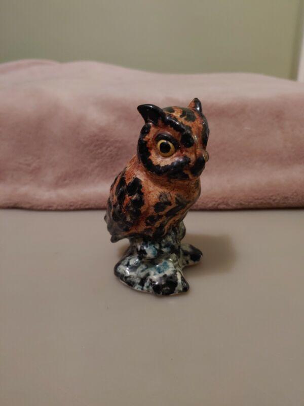 Rare Vintage Stangl Owl