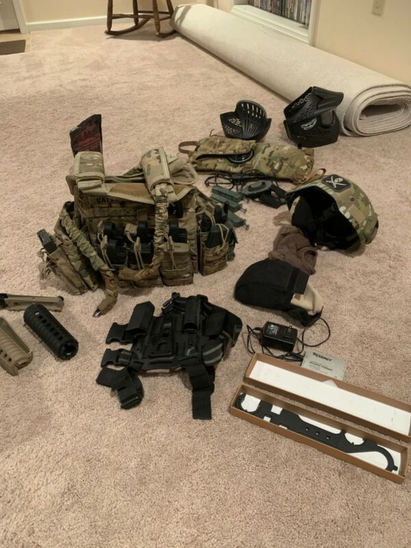 Airsoft Lot (Gear, Magpul, G&P, Multicam, other)