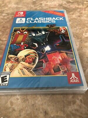 Atari Flashback Classics (Nintendo Switch) USA Edition -Fast Shipping in a box