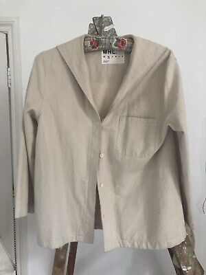 MHL Margaret Howell Cotton Sailor Collared Jacket XS
