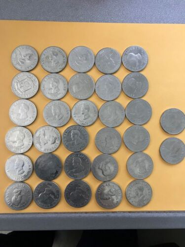 1975 Republic of the Philippines 5 piso coin Ferdinand Marcos lots of 32