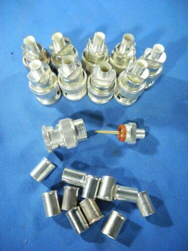 10pc AMP RF / Coaxial Connector 2-329083-1 NOS