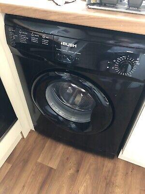 Bush washing machine A127QB Black 7kg