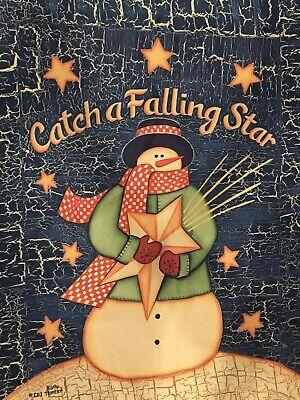 """CATCH A FALLING STAR NEW GARDEN Flag 12"""" X 18""""."""