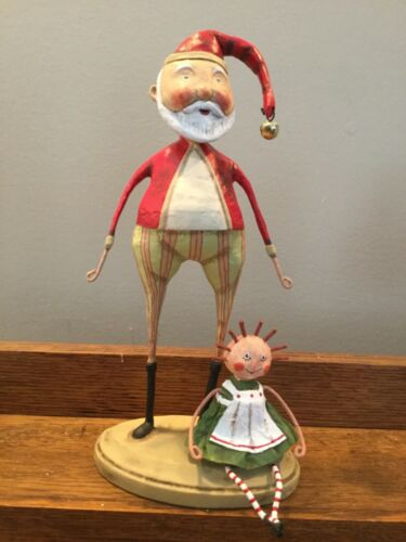 Lori Mitchell Something for Sally, Santa with Doll