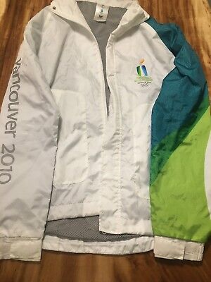 VANCOUVER 2010 OLYMPIC X/S JACKET WORN BY DAUGHTER AS TORCH RELAY PARTICIPANT  for sale  Shipping to Canada