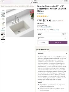 GRANITE SINK RETAIL $1574.99