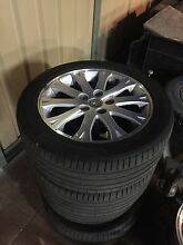 Caprice rims 17inch continental tires 70% Braybrook Maribyrnong Area Preview
