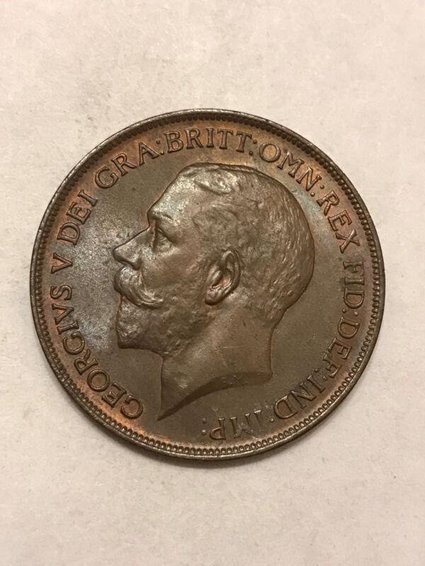 Gr. Brit. 1911 1d Unc /BU(3000)