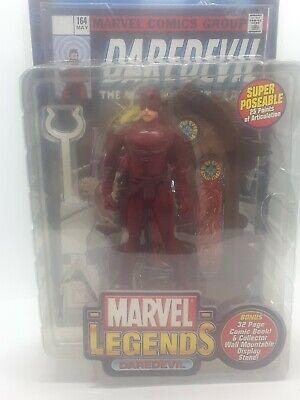 2002 ToyBiz Marvel Legends Series III 3 DAREDEVIL Figure A26
