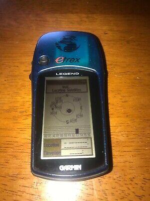 Garmin eTrex Legend Handheld, Tested. Free Shipping