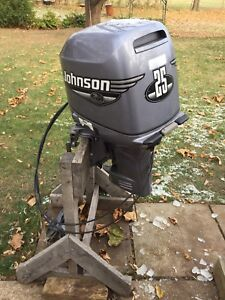 Johnson 25HP Parts Motor  1985