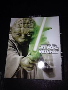 Star Wars 1-3 Blue Ray DVD Combo 20$