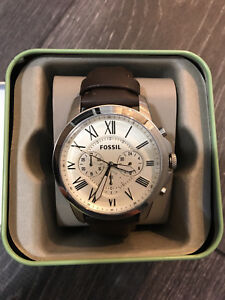Mens Fossil Watch Chronograph