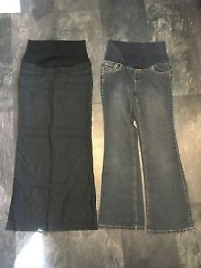 Maternity small jean and dressy jeans